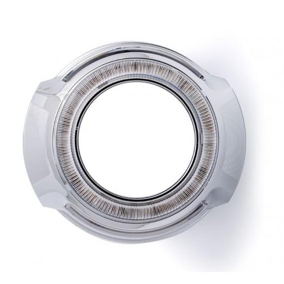 """Бленда (маска) для биксеноновых линз Optima BL-M88 2.5"""" под ангельские глазки"""
