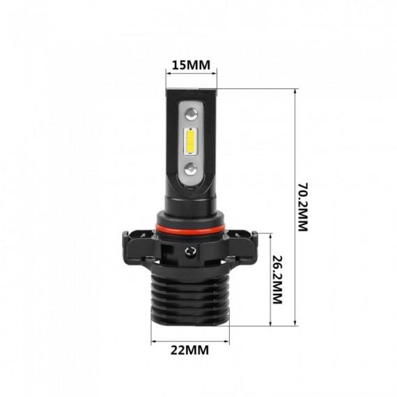 Светодиодные лампы H16EU / 5202 OPTIMA LED QVANT комплект 2 шт