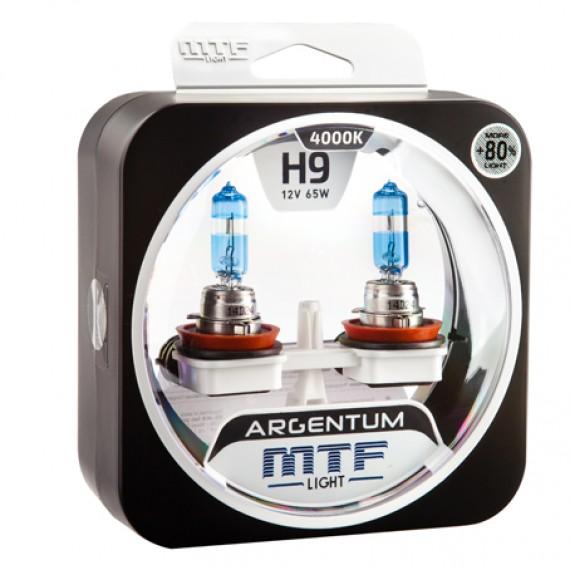 Лампы галогенные MTF-Light Argentum +80% H9 4000K HA5038