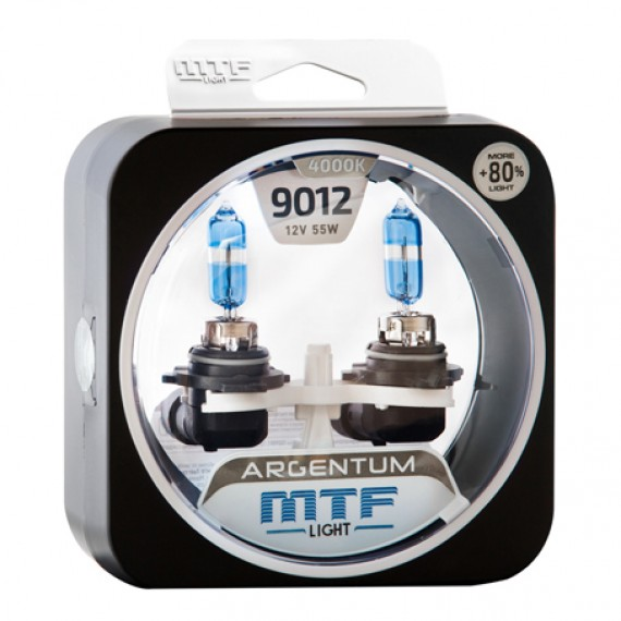 Лампы галогенные MTF-Light  Argentum +80% HIR2 (9012) 4000K HA4594