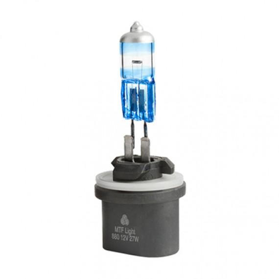 Лампы галогенные MTF-Light Argentum +80% H27 (880) 4000K HA5090
