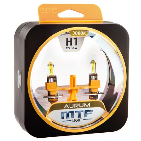 Лампы галогенные MTF-Light Aurum H1 3000K HA3300