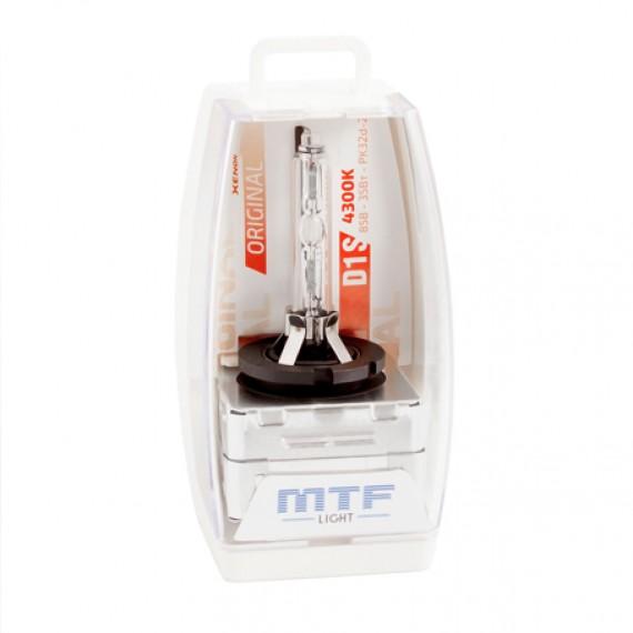 Штатная ксеноновая лампа MTF Original D1S 4300K SBD1S4