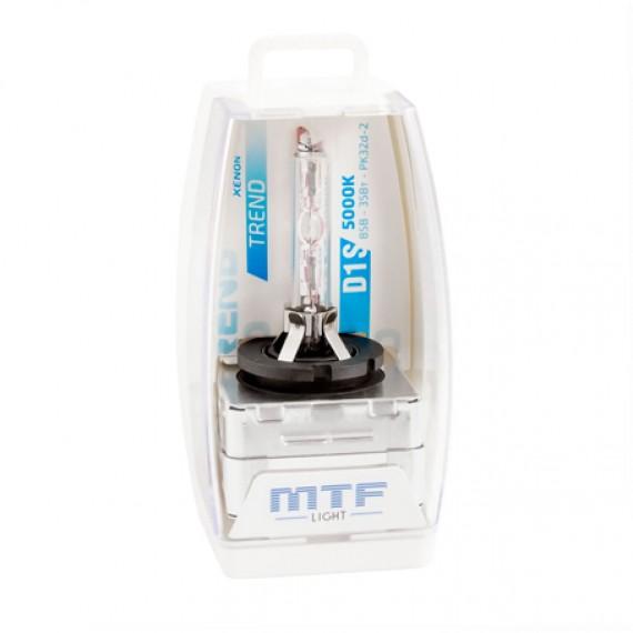 Штатная ксеноновая лампа MTF Trend D1S 5000K SBD1S5