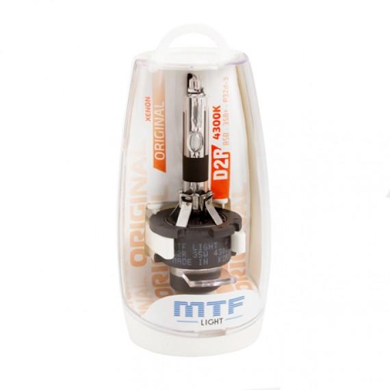 Штатная ксеноновая лампа MTF Original D2R 4300K SBD2S4