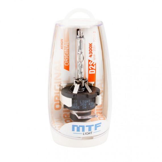 Штатная ксеноновая лампа MTF Original D2S 4300K SBD2S4