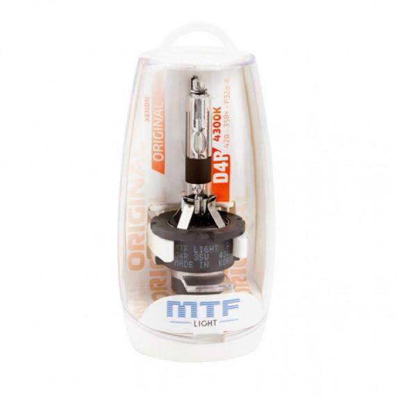 Штатная ксеноновая лампа MTF Original D4R 4300K SBD4R4