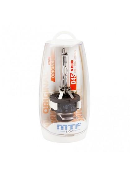 Штатная ксеноновая лампа MTF Original D4S 4300K SBD4S4