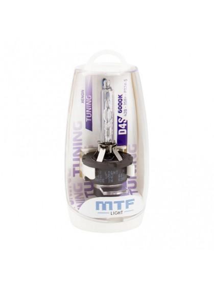 Штатная ксеноновая лампа MTF Tunning D4S 6000K SBD4S6