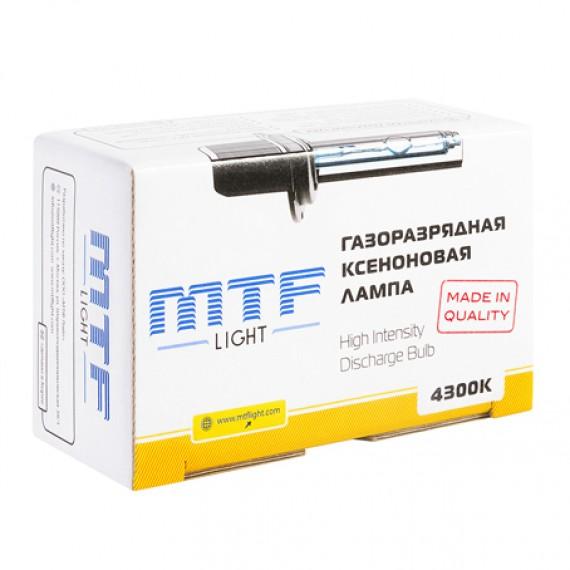 Универсальная ксеноновая лампа MTF H7 4300K, 5000K, 6000K XBH7К4