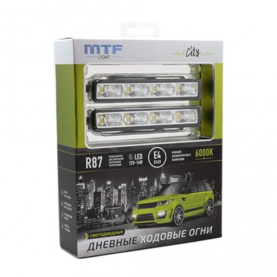 Дневные ходовые огни (ДХО, DRL) MTF City LDL125