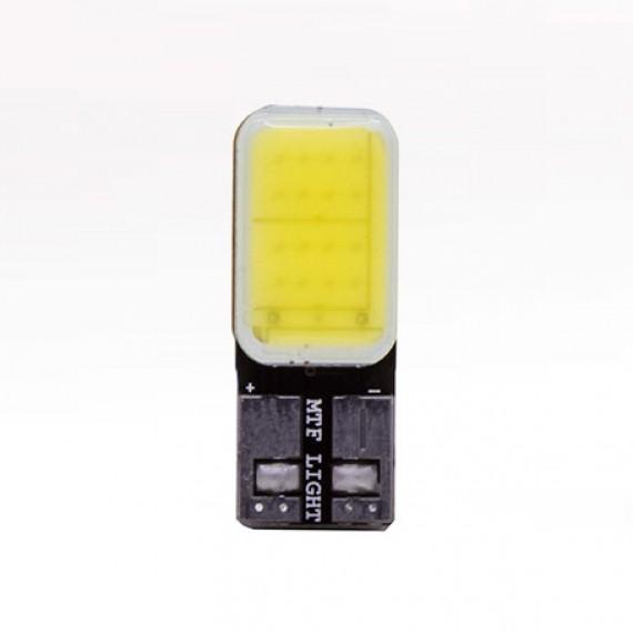 Габаритные светодиодные лампы MTF W5W COB 4500K COB45T10