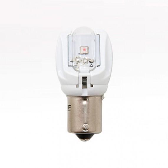 Сигнальная светодиодная лампа MTF P21W желтая MP21WY