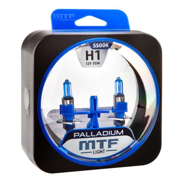 Лампы галогенные MTF-Light Palladium H1 5500K HP3461