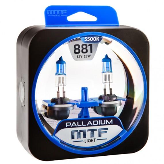 Лампы галогенные MTF-Light Palladium H27 (881) 5500K HP3591