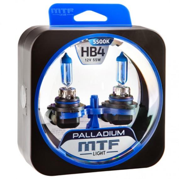 Лампы галогенные MTF-Light Palladium HB4 5500K HP3539
