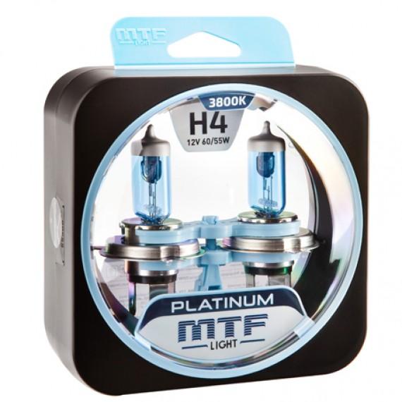 Лампы галогенные MTF-Light Platinum H4 3800K HP3041