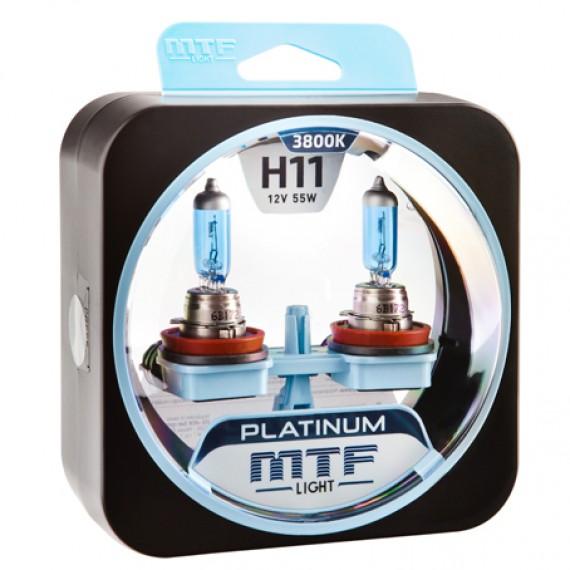 Лампы галогенные MTF-Light Platinum H11 3800K HP3096
