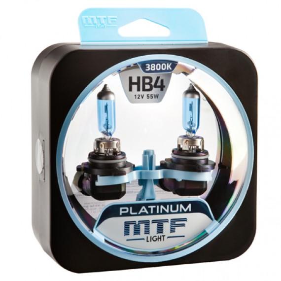 Лампы галогенные MTF-Light Platinum HB4 3800K HP3119