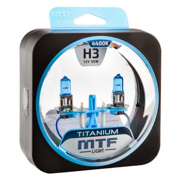Лампы галогенные MTF-Light Titanium H3 4400K HT5250