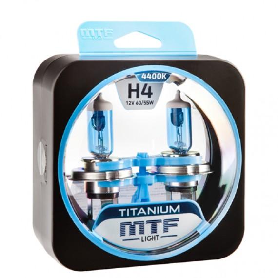 Лампы галогенные MTF-Light Titanium H4 4400K HT5267