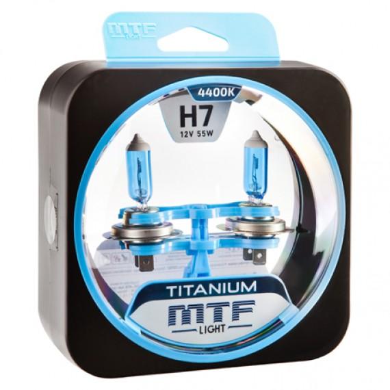 Лампы галогенные MTF-Light Titanium H7 4400K HT5274