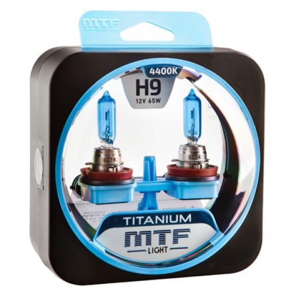 Лампы галогенные MTF-Light Titanium H9 4400K HT5236