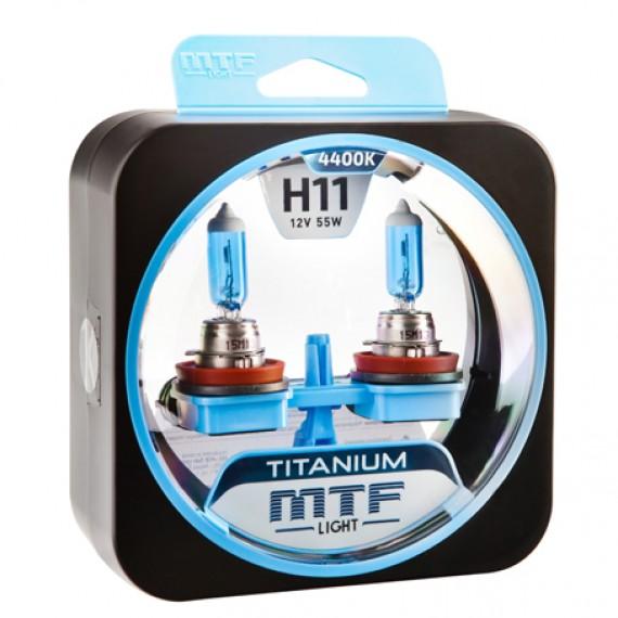 Лампы галогенные MTF-Light Titanium H11 4400K HT5298