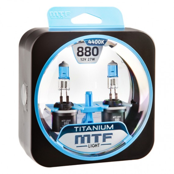 Лампы галогенные MTF-Light Titanium H27 (880) 4400K HT5304