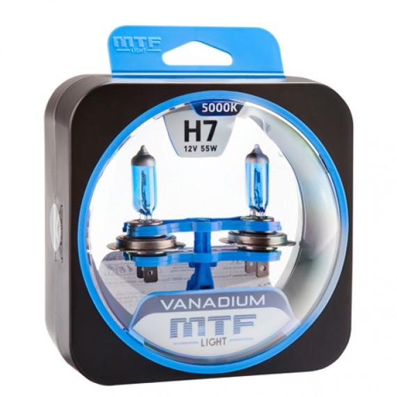 Лампы галогенные MTF-Light Vanadium H7 5000K HV3751