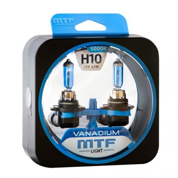Лампы галогенные MTF-Light Vanadium H10 5000K HV2149