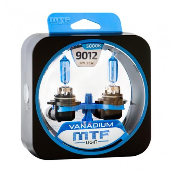 Лампы галогенные MTF-Light Vanadium HIR2 (9012) 5000K HV4570