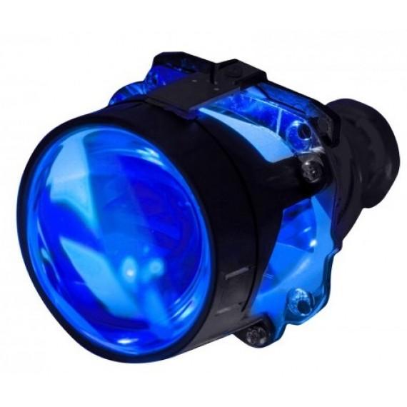 """Светодиодная подсветка линз """"Devil Eye"""" Blue 1W (синяя)"""