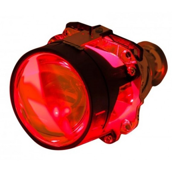 "Светодиодная подсветка линз ""Devil Eye"" Red 1W (красная)"