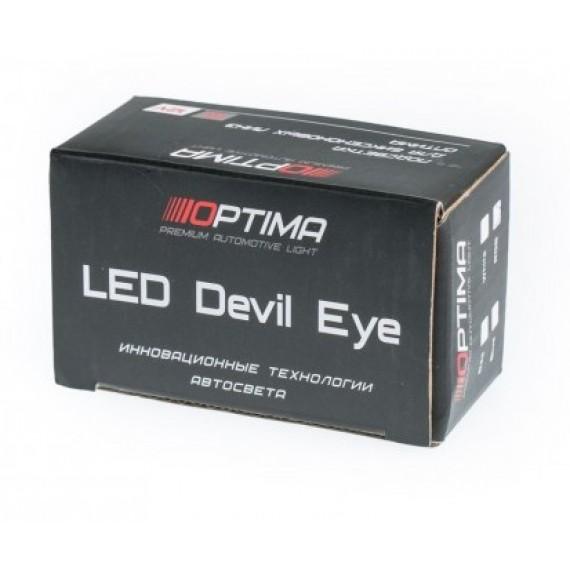 "Светодиодная подсветка линз ""Devil Eye"" RGB 1W (разноцветная)"