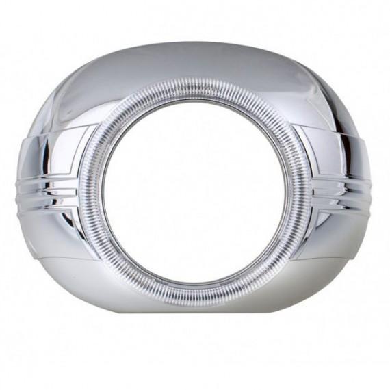 """Бленда (маска) для биксеноновых линз Optima BL-Z120 3.0"""" под ангельские глазки"""