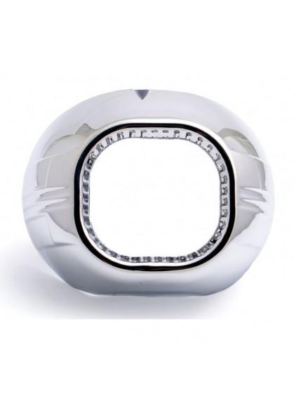 """Бленда (маска) для биксеноновых линз Optima BL-Z130 3.0"""" для линзы Koito Q5 Square"""