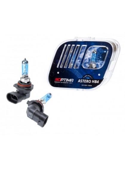 Галогенные лампы OPTIMA Astero HB4 5000K +80%