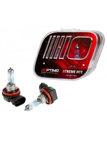 Галогенные лампы Optima Xtreme H11 4200K +130%