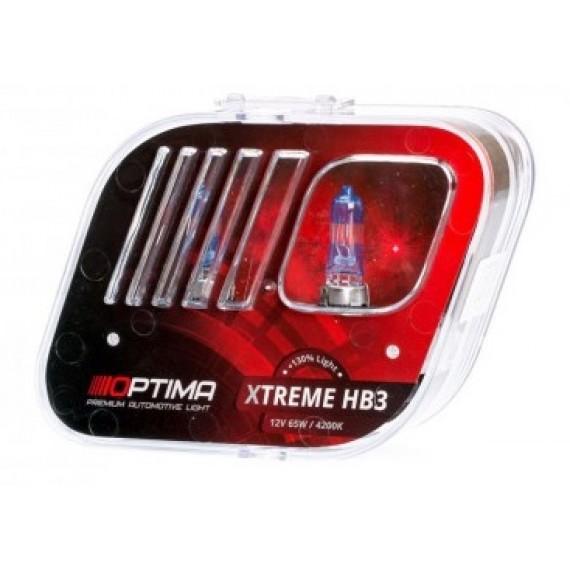 Галогенные лампы Optima Xtreme HB3 4200K +130%