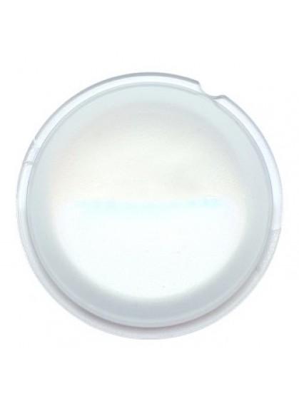 Рассеивающая стеклянная линза для Optima Bi-LED 65мм с голубым оттенком