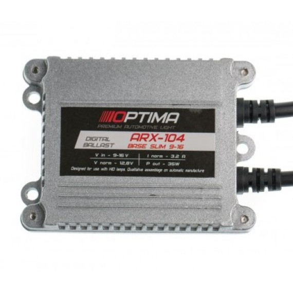 Блок розжига Optima Premium ARX-104 Base slim 35W 9-16V