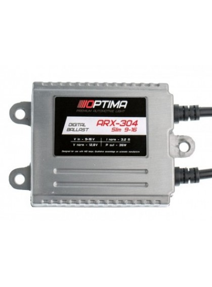 Блок розжига Optima Premium ARX-304-12 Slim 35W 9-16V