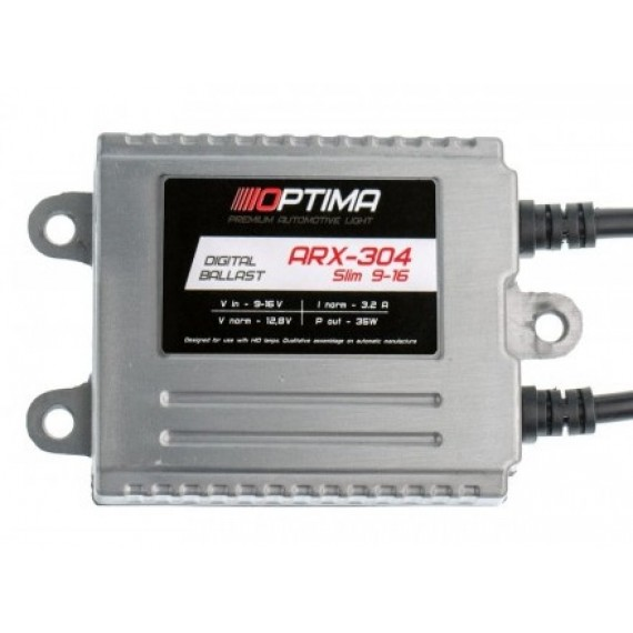 Блок розжига Optima Premium ARX-304-12 Slim 35W 9-16V