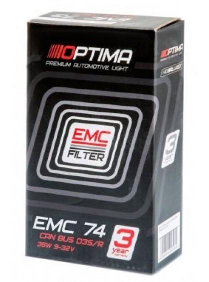Блок розжига Optima Premium EMC-74 D4S/D4R Can Bus 9-32V 35W