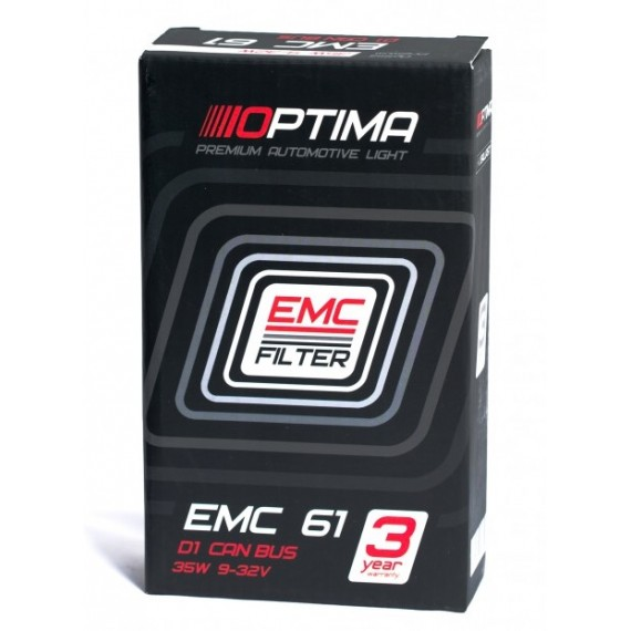 Блок розжига ксенона Optima Premium EMC-61 D1S/D1R Can Bus 85V 35W
