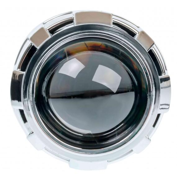 """Светодиодная би-линза дальнего света Optima LED F-PRO 2,5"""" 5000K"""