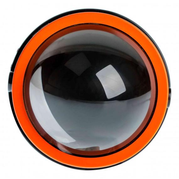"""Светодиодная би-линза для ПТФ Optima Bi-LED FOG F-PRO 3,0"""" 5000K"""