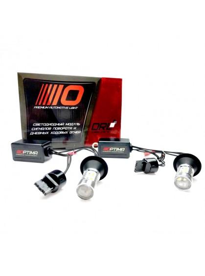 Дневные ходовые огни ( ДХО, DRL ) Optima DRL WY21W с функцией поворотника