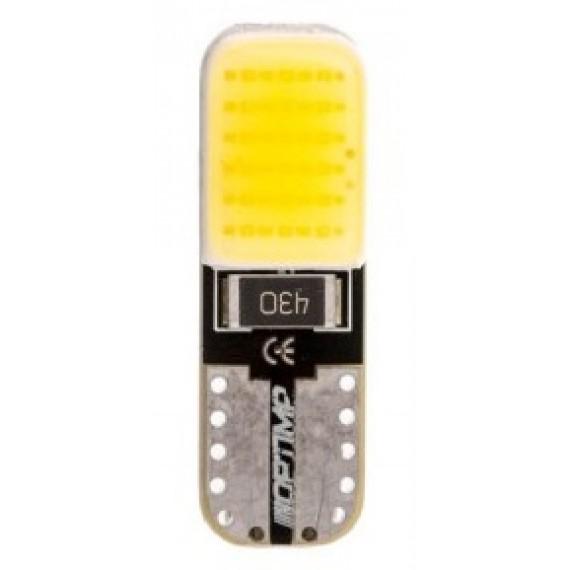 Светодиодная лампа Optima W5W COB CAN BUS с обманкой 3W 12V 5100К OP-W5W-COB-CAN-5K 1 шт.